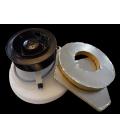 Kit complet sur platine GA 14 + 2 filtres  + croisillons + piège à son