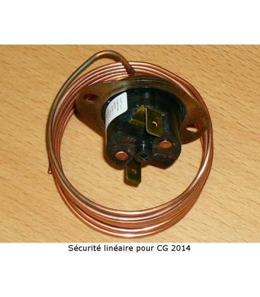 Sécurité linéaire pour convecteur de sol  type CG2014